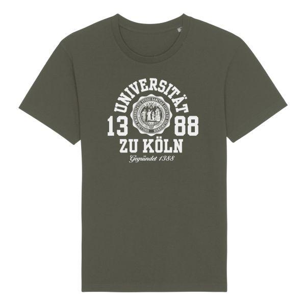 Herren Organic T-Shirt, khaki, marshall
