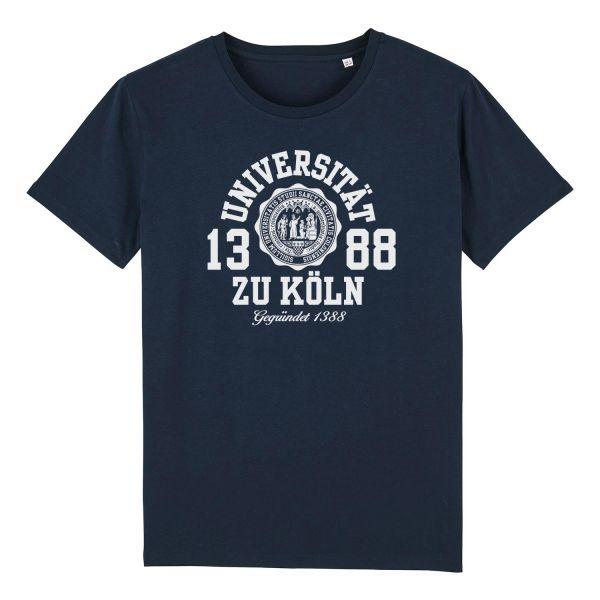 Herren Organic T-Shirt, navy, marshall