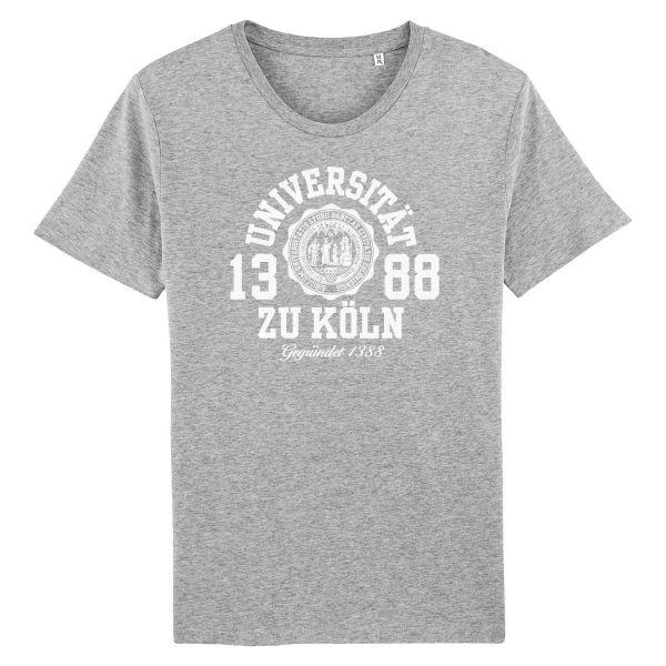 Herren Organic T-Shirt, heather grey, marshall
