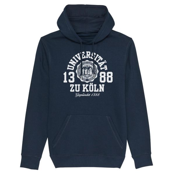 Unisex Hooded Sweatshirt, navy, marshall