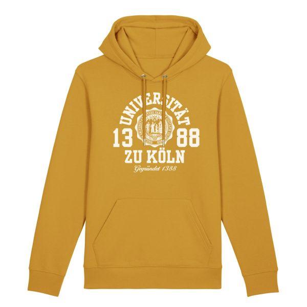 Herren Hooded Sweatshirt, ochre, marshall