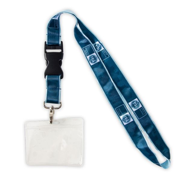 Lanyard, blue, corporate