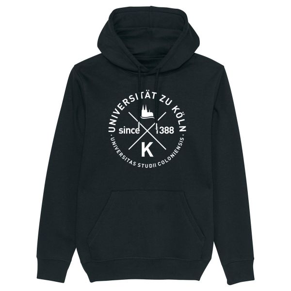 Unisex Hooded Sweatshirt, black, glasgow